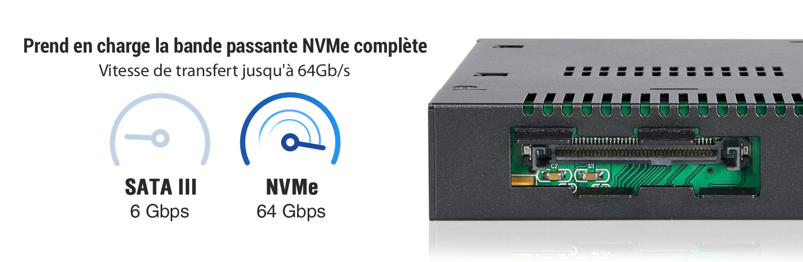 Comparaison NVMe VS SATA