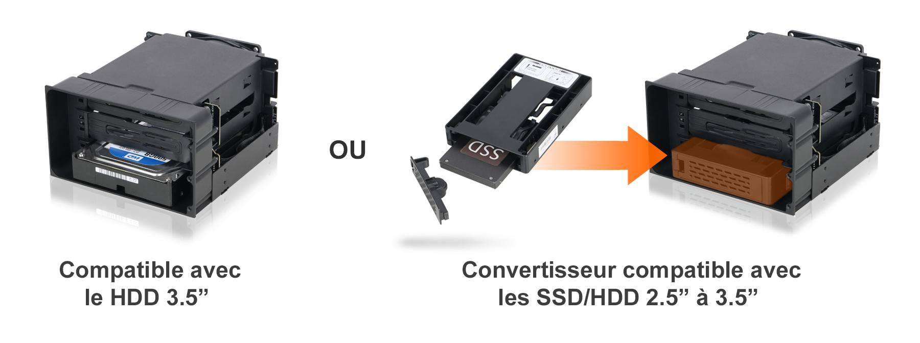 Photo du convertisseur optionnel compatible avec le MB830SP-B : le MB882SP-3B