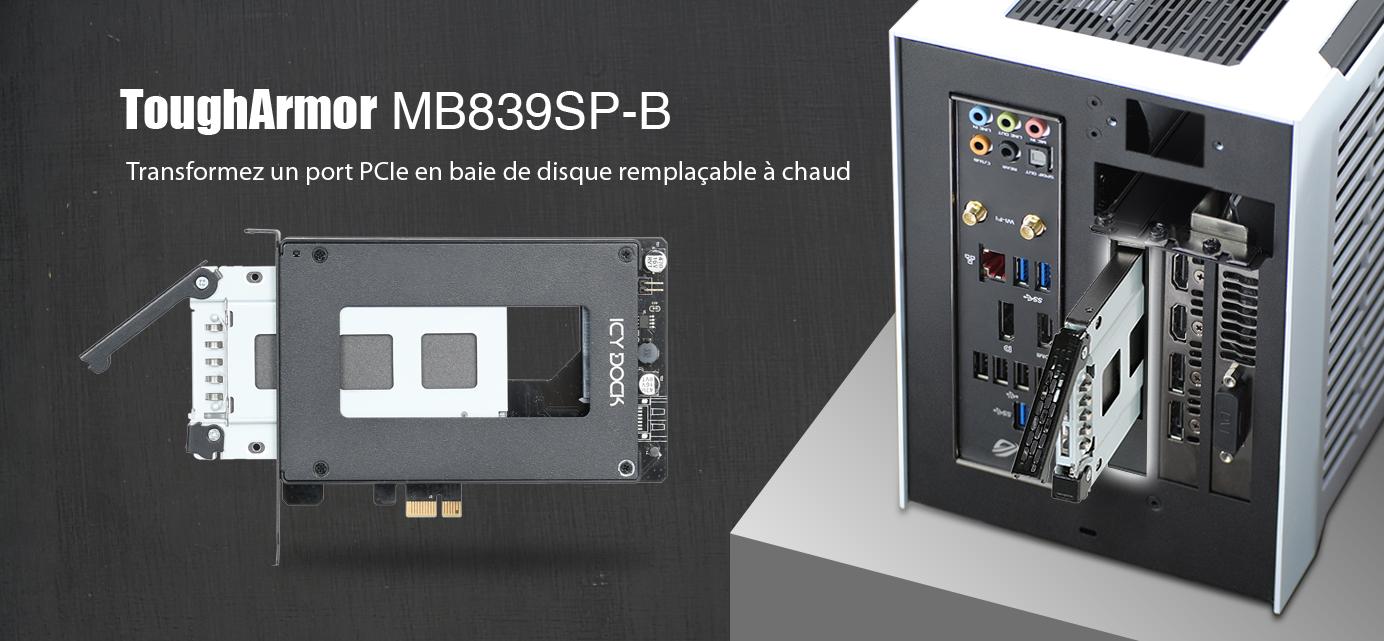 Bannière de présentation du MB839SP-B