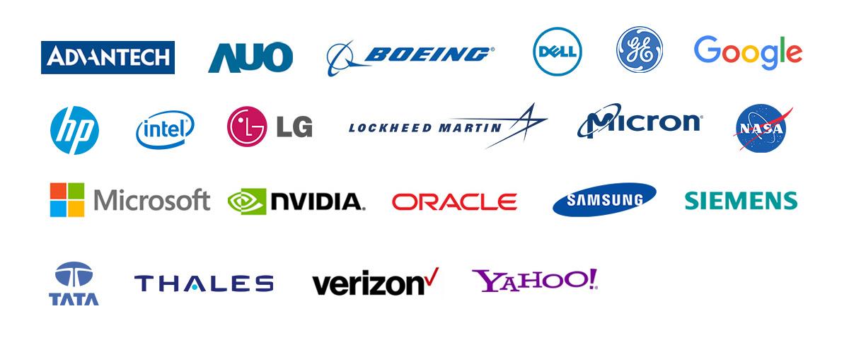 Logo des entreprises partenaires de ICYDOCK
