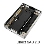 "EZConvert Air MB382IP-3B Open Air 2.5"" to 3.5"" SAS SSD/HDD Converter/Mounting Kit"